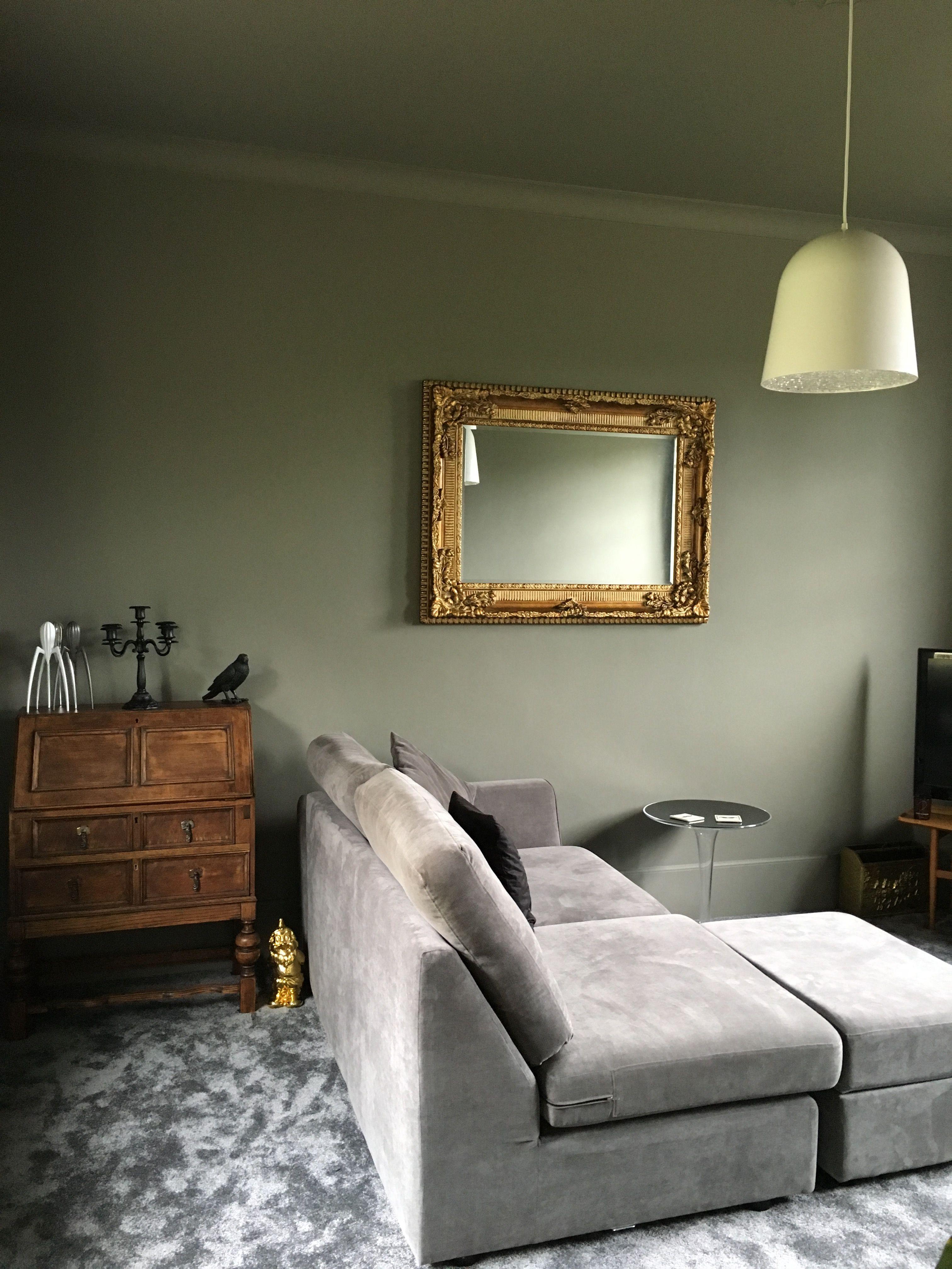 Grey Bedroom Decor, Wall Color