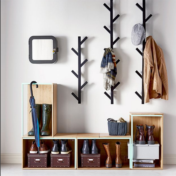 Beautiful Entry Way Coat Rack