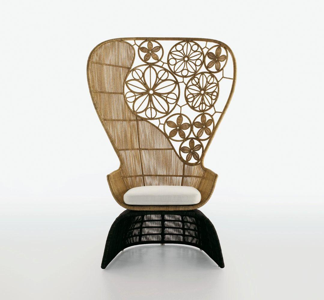 Armchair: CRINOLINE – Collection: B&B Italia Outdoor – Design ...