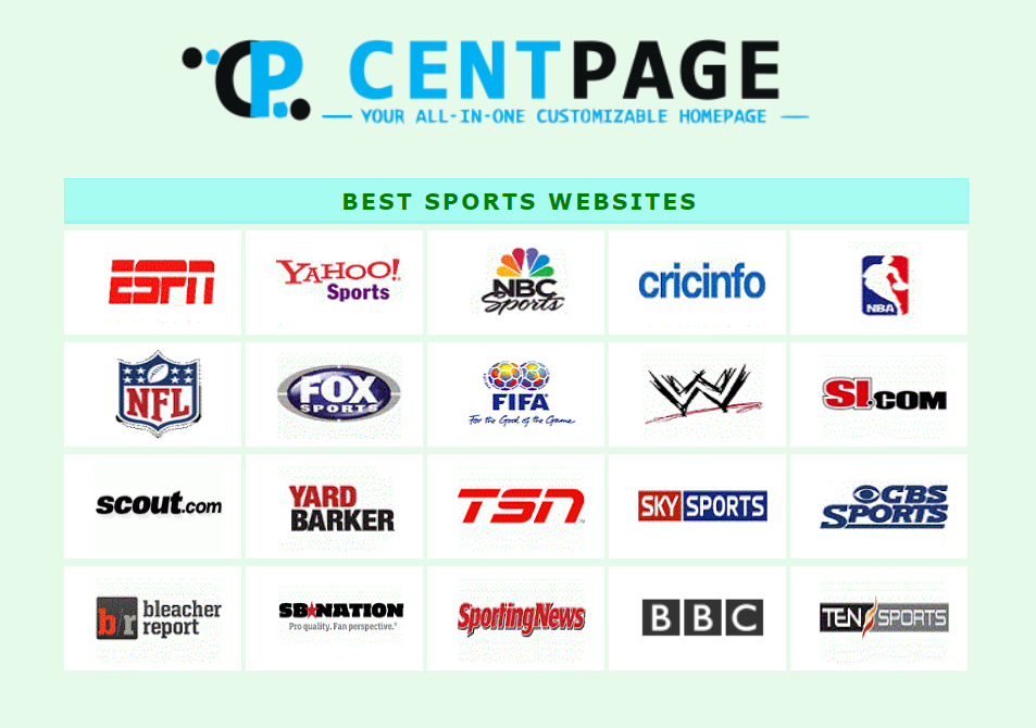 Check Out The Best Sports Websites Currently You Can Browse Through These Popular Websites Easily Just Navigate To Http Www Ce Fun Sports Sports Website