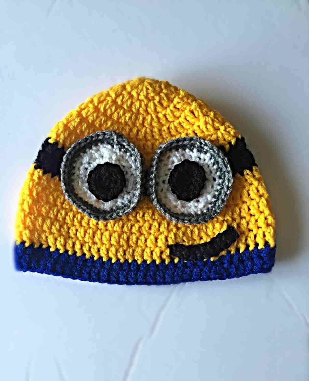 3e1816d78210d Crochet Minion - body type 3. something by vera handmade crafts and crochet  minion bob