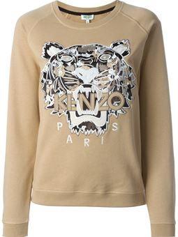 b32692886 Tiger' sweatshirt $380 #farfetch #prett #VintageClothing | Womens ...