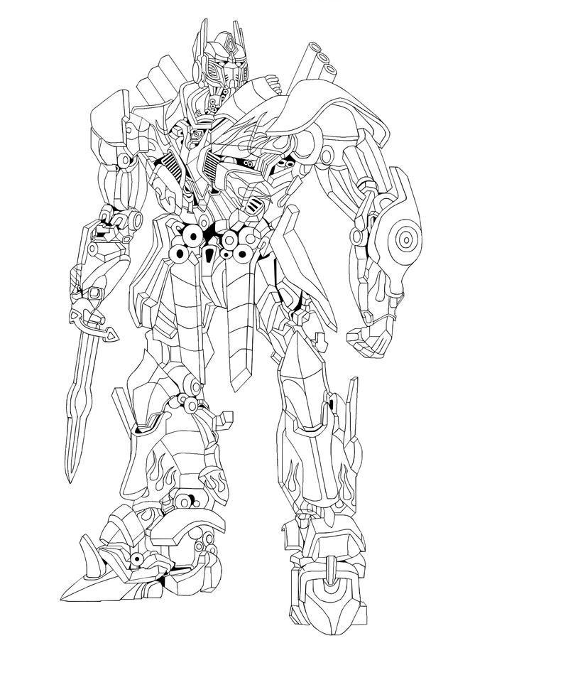 30+ Transformers prime optimus prime coloring page info