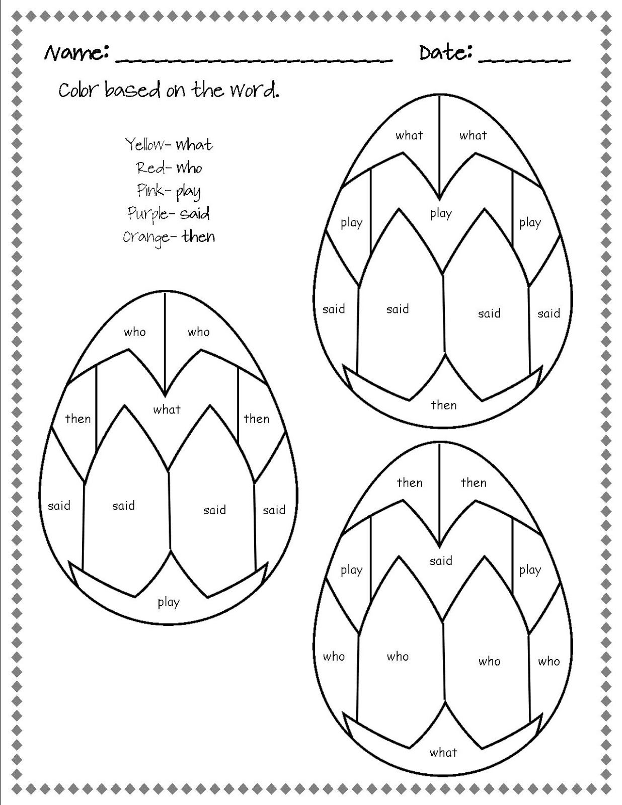 Coloring activities for 1st grade - Find This Pin And More On Teaching