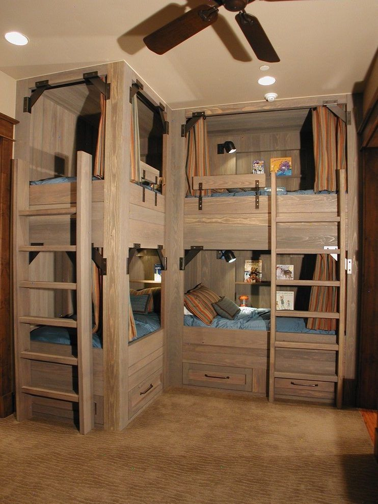 Tripple Bunk Bed For Teens
