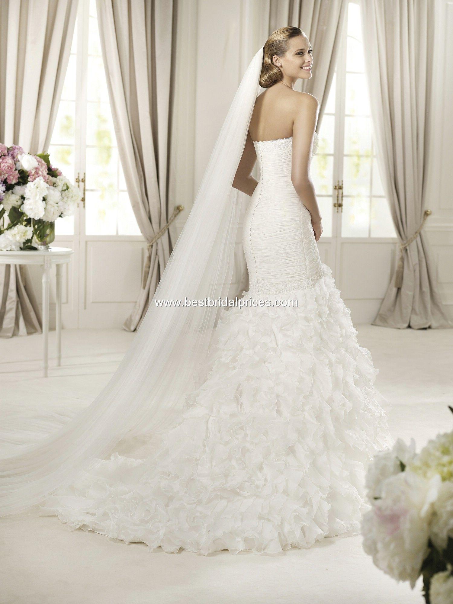 27 dresses wedding dress  Pronovias Wedding Dresses  Wedding ideas  Pinterest  Pronovias