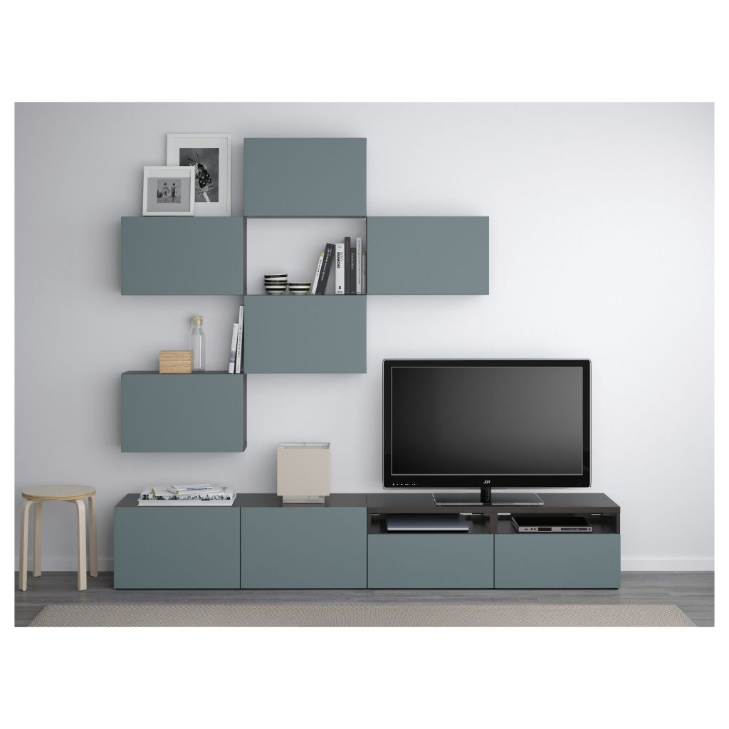 Modernes Innenarchitektur F R Luxush User Belle Meuble Tv Ikea  # Meuble Tv En Verre Ikea