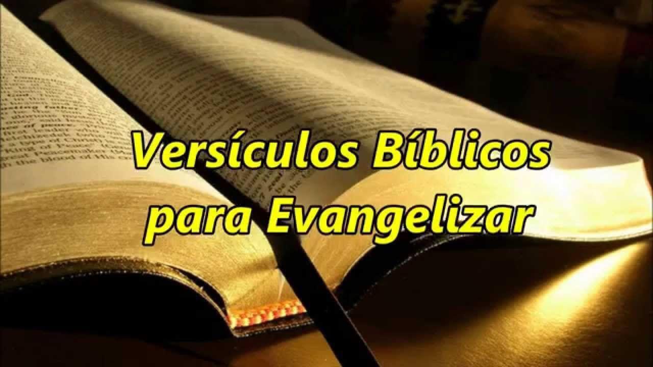 Versiculos Para Evangelizar Evangelho Pregai