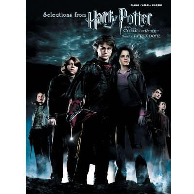 Harry Potter And The Goblet Of Fire Sheet Music Piano Vocal Chords Harry Potter Goblet Harry Potter Movie Posters Fire Movie