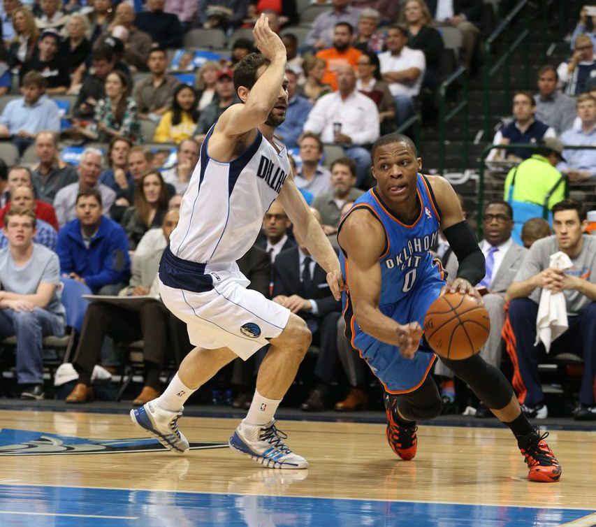 Photo Gallery: Thunder at Mavericks - March 25, 2014 | THE OFFICIAL SITE OF THE OKLAHOMA CITY THUNDER