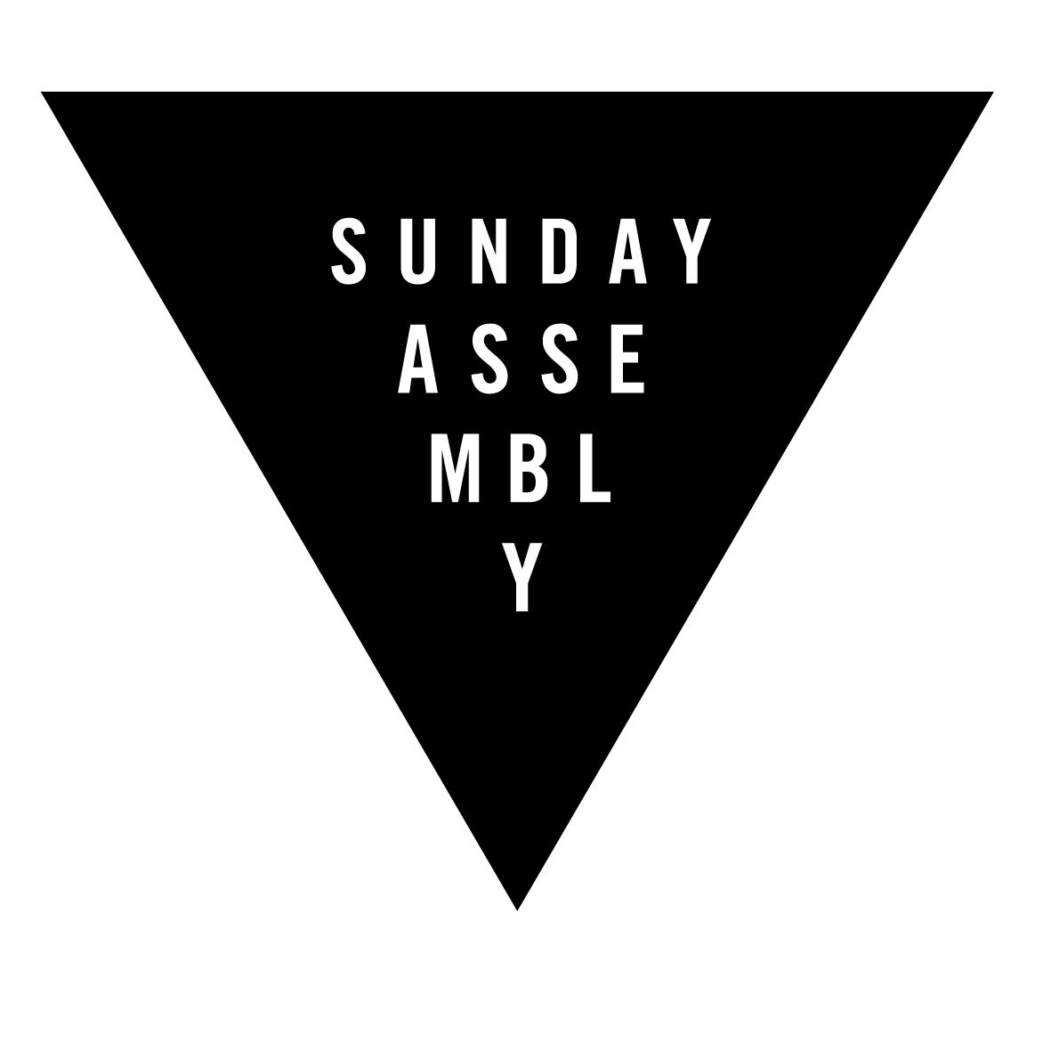 "Sunday Assembly is a godless congregation that inspires you to ""Live better, help often, and wonder more!"""