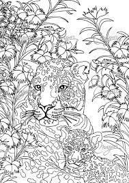 coloriage anti stress animaux fantastiques