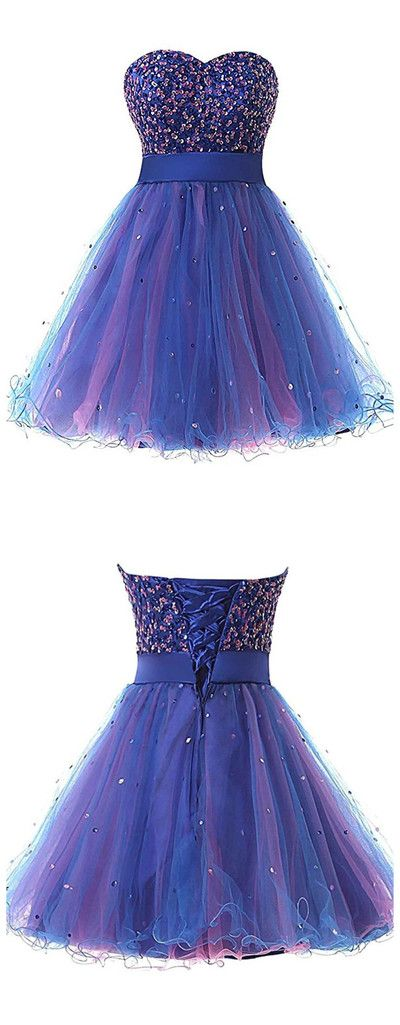 Homecoming Dress Short Graduation Dresse from mfprom #outfits4school