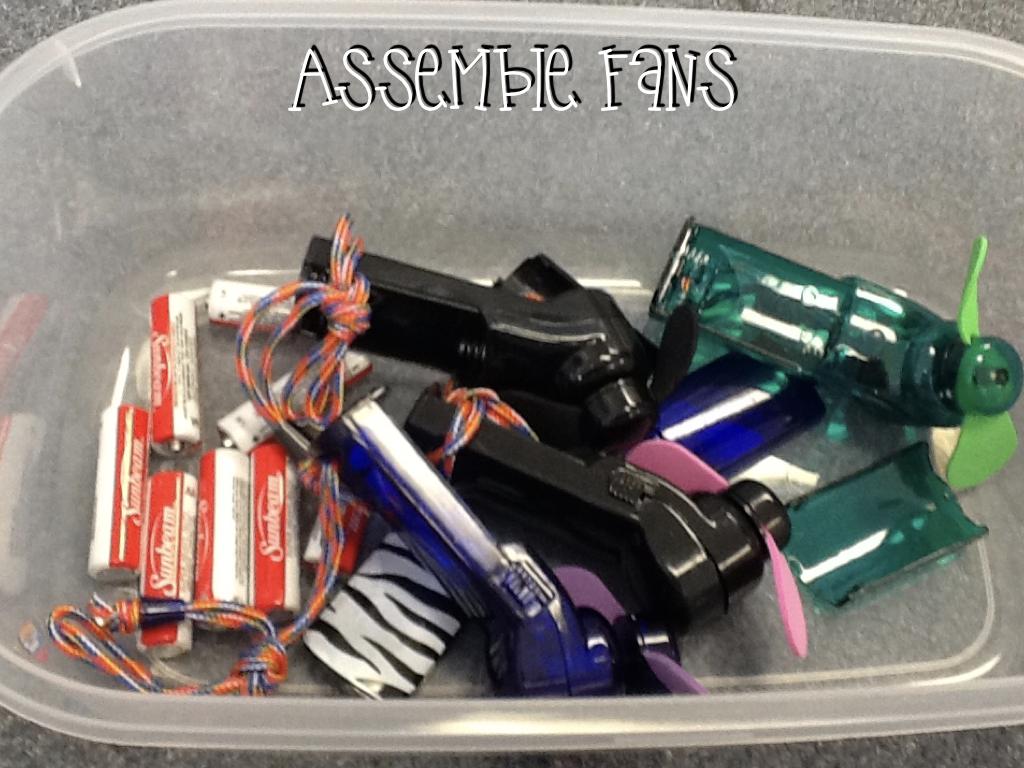 Task Boxes Assembly Tasks