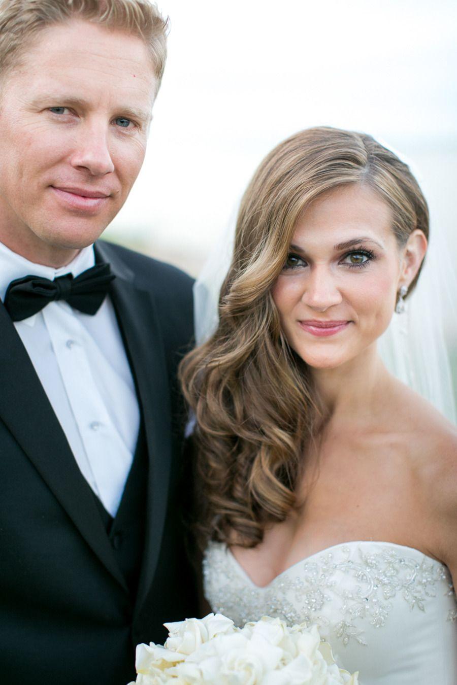Irish Barn Glam Wedding at Whistling Straits | Bridal hair ...