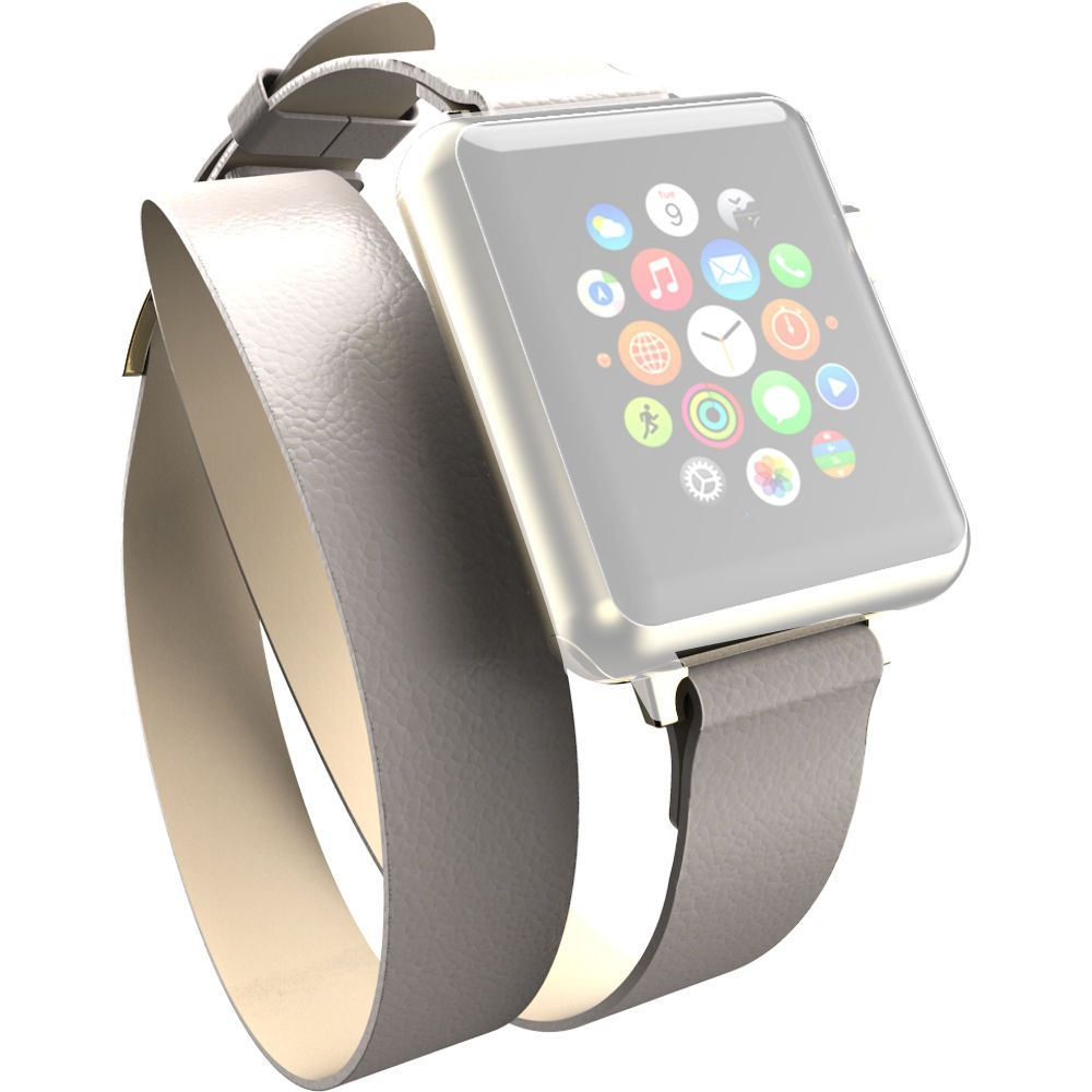 Incipio Reese Double Wrap Band for Apple Watch (38mm, Tan