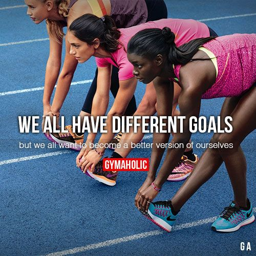 We All Have Different Goals