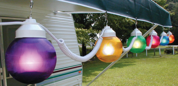 Polymer Products 1661 00523 6 Inch Multi Color Globe String Lights