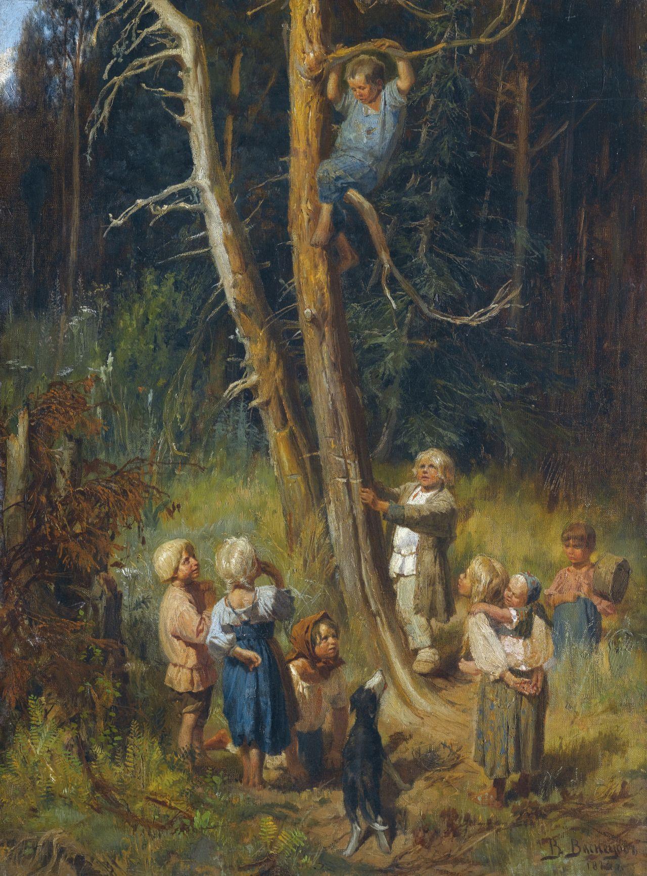 Victor Mikhailovich Vasnetsov. Biography for children