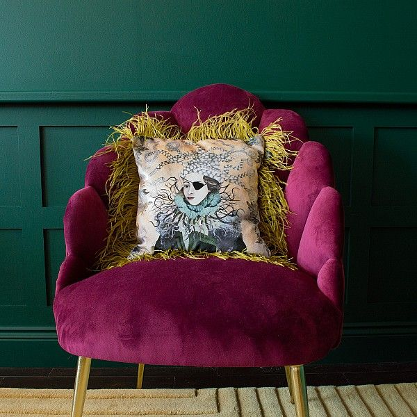 Unusual Home Accessories | Audenza | Velvet cushions ...