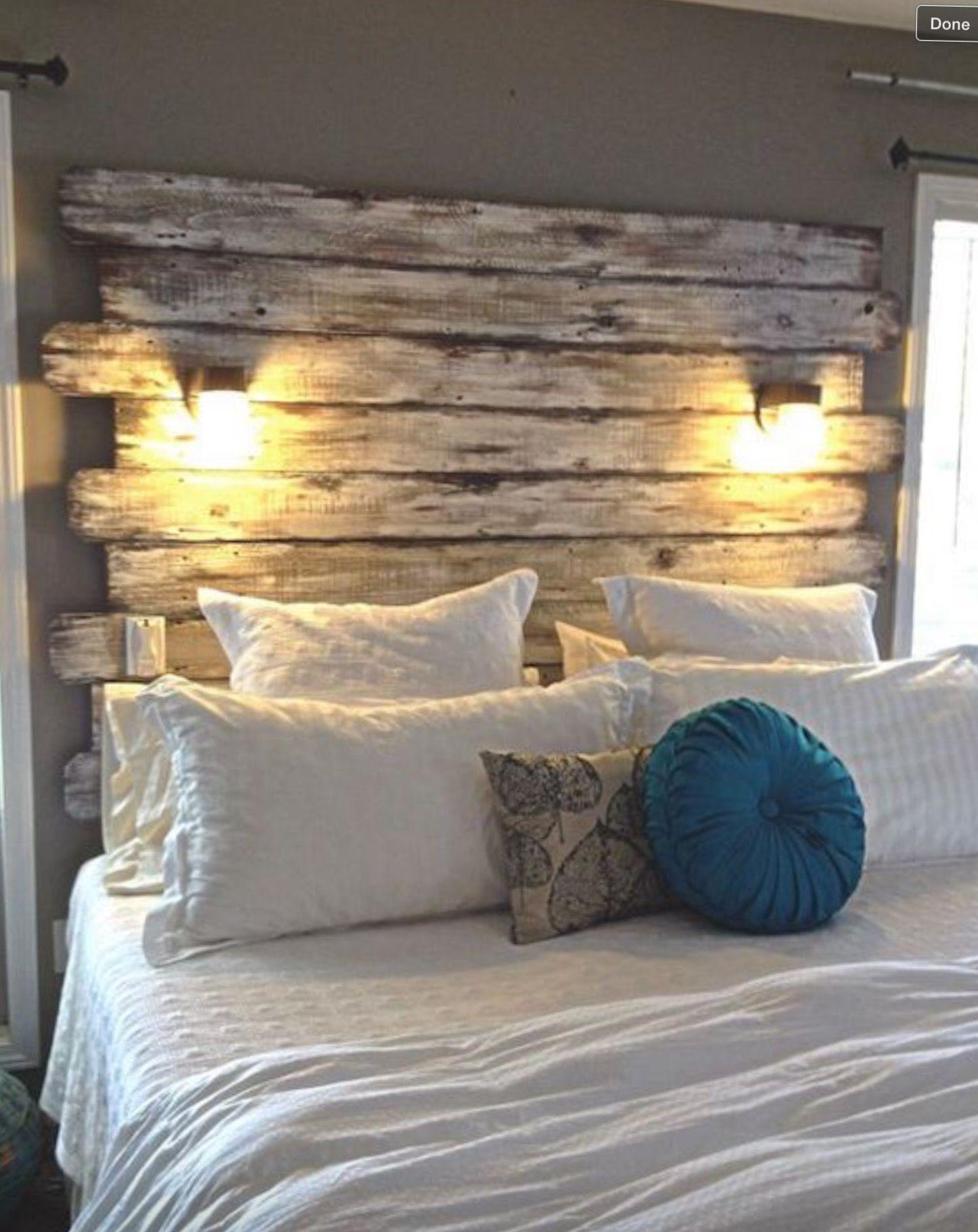 Image Via My House  Bed Headboard Ideas Image Via