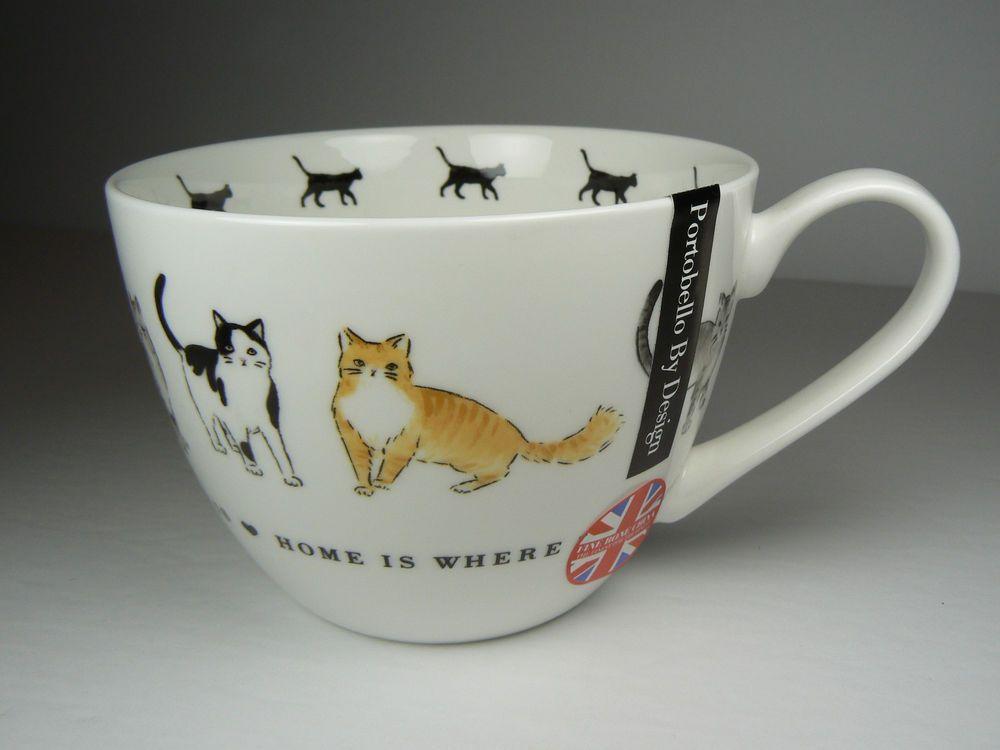 Inspirational Bone China Mug with Lid