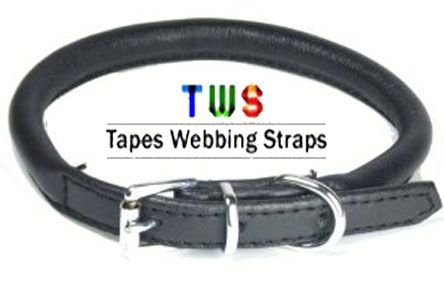 Dog collar of different types are available at us.  For more details click on the below link or call us on +9833884973/9323558399  http://tapeswebbingstraps.in/  Courtsey : Tapes Webbing strap