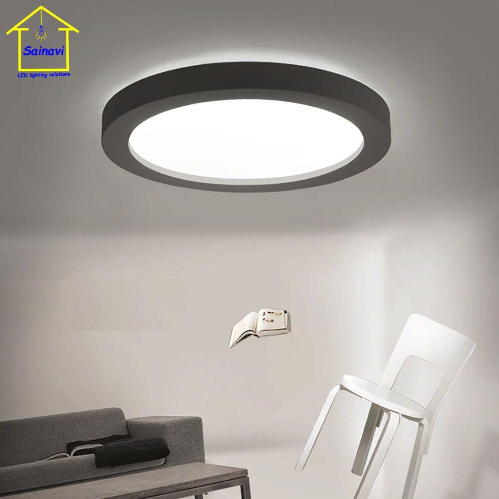 Hot Sales Creative Simple Geometric Modern Art Led Round Ceiling Lamp Balcony Aisle Bedroom Living Room Lights 3 Ceiling Lights Ceiling Lamp Led Ceiling Lights