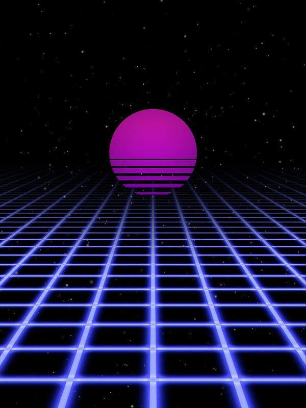 Resultado De Imagen Para Digital Sunset 80s Aesthetic Vaporwave