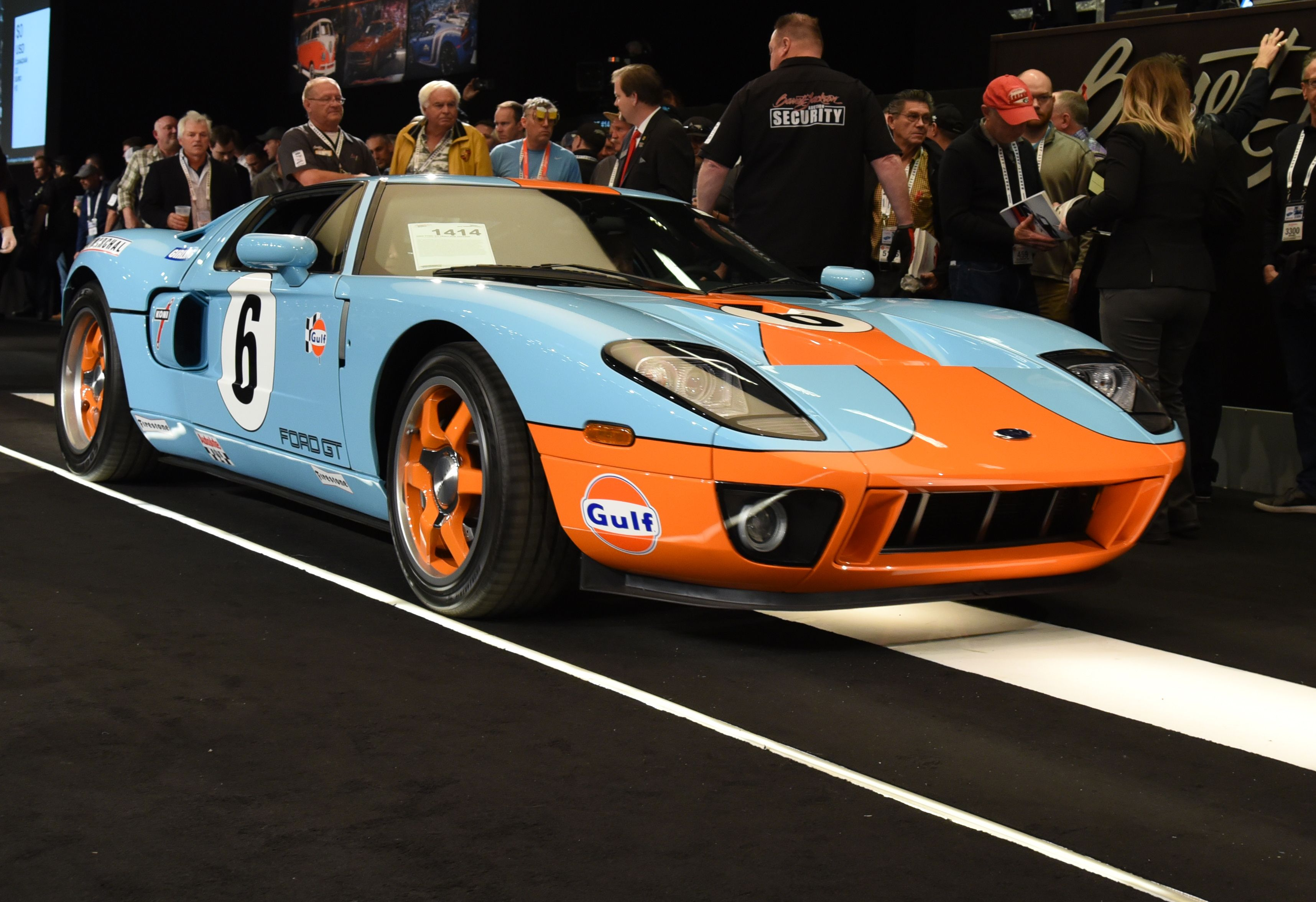 2006 Ford Gt Heritage Edition One Of 343 Heritage Editions