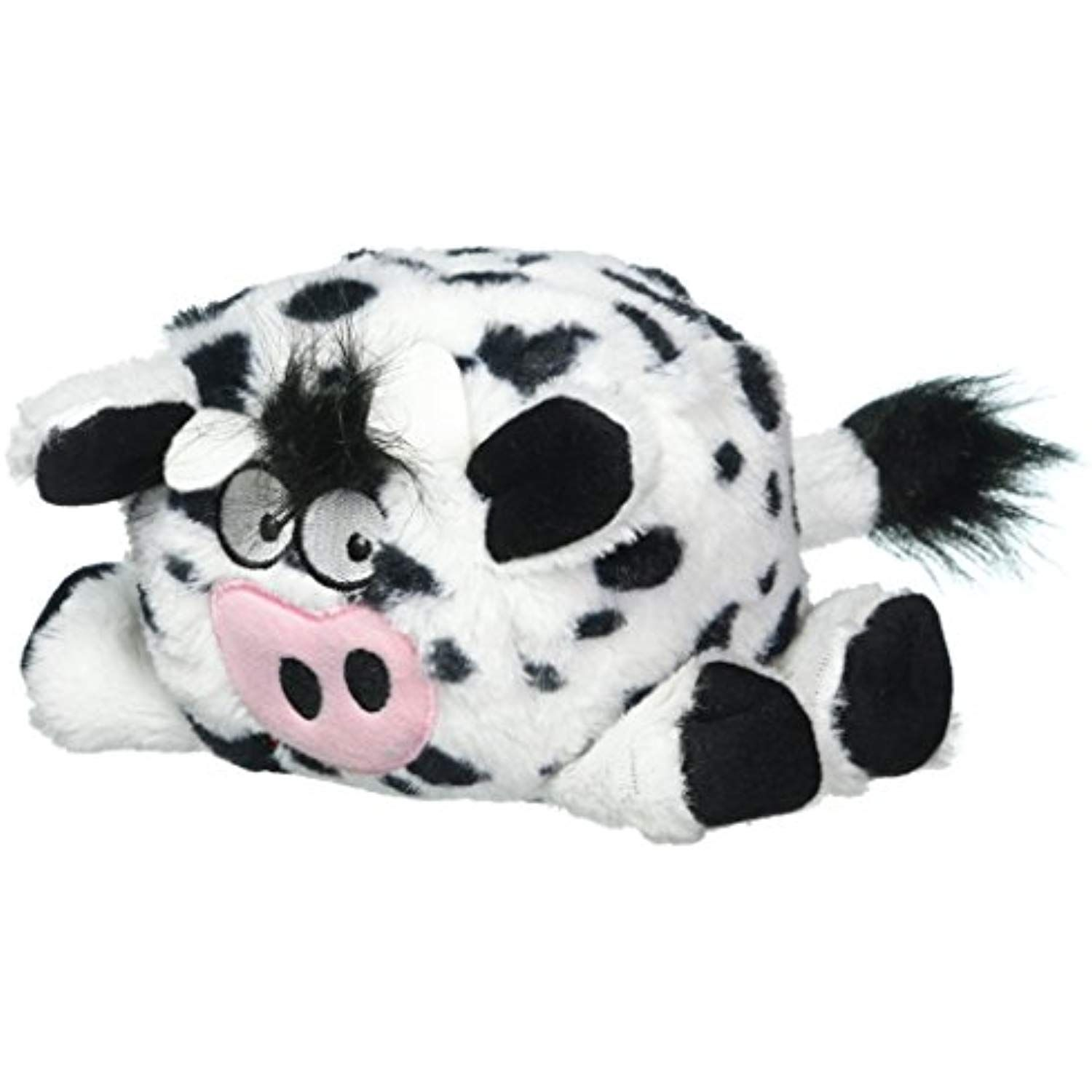Trustypup Tough N Fun Squares Cow Durable Dog Toy Read More At