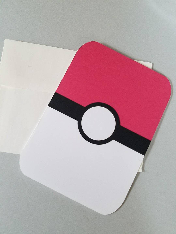 Pokemon Birthday Card Pokemon Ball Pokemon Gifts Gifts For