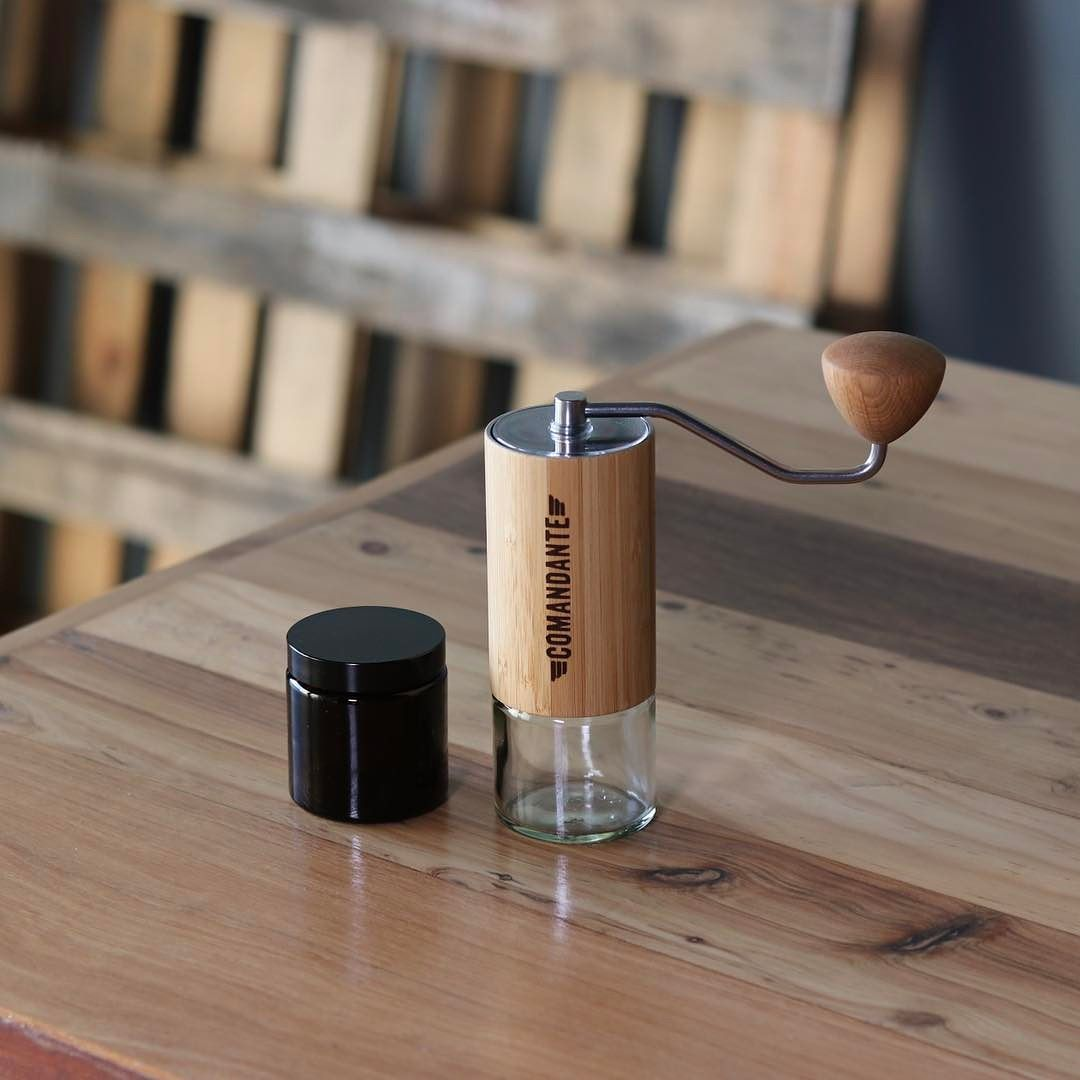 Looking At This Stunning Comandante Bamboo C40 Grinder Shop Grinders Alternativebrewing Link In Bio Same Day Dispatch Coffee Brewing Coffee Coffee Grinder