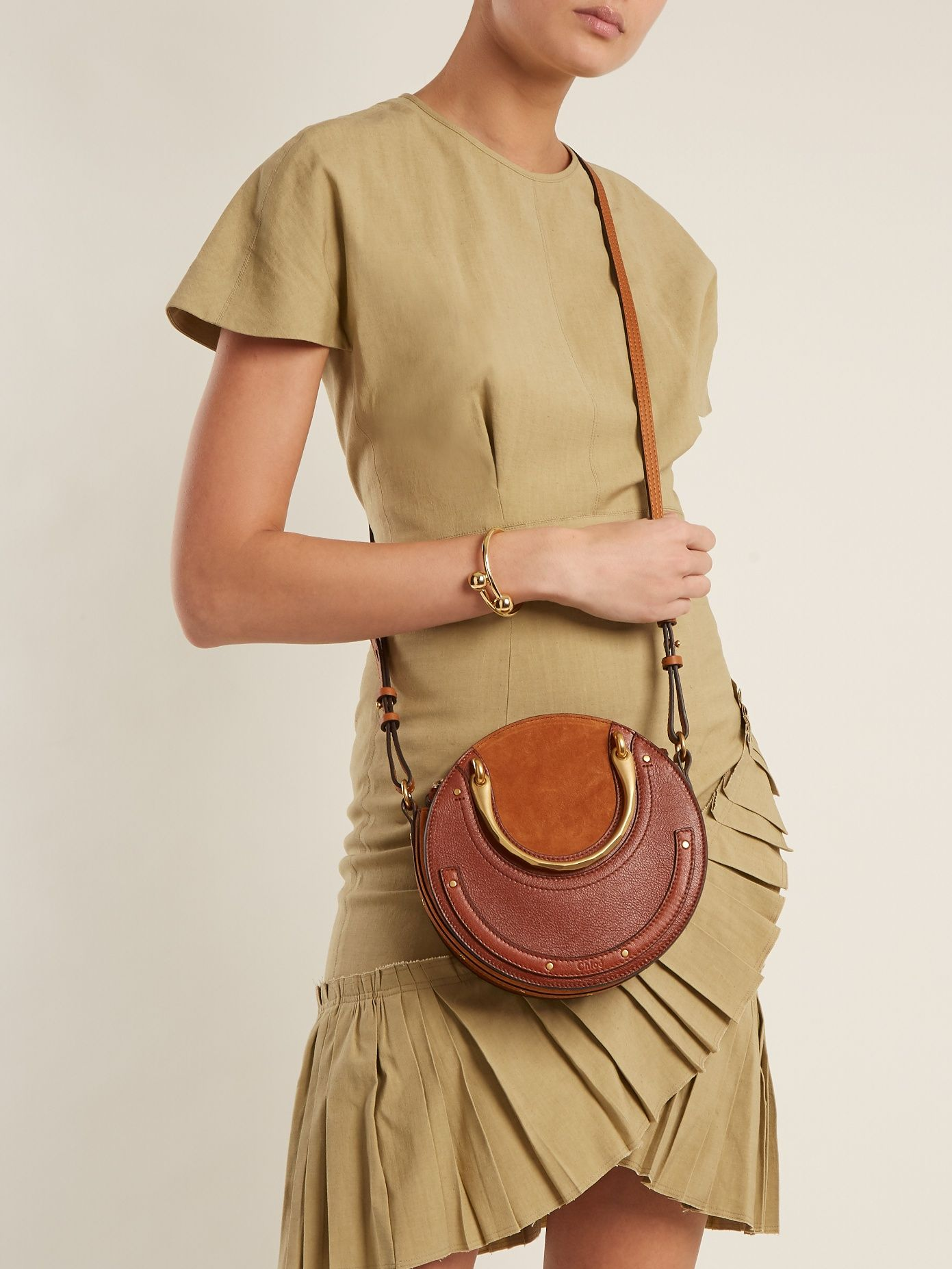 13489736429 Click here to buy Chloé Pixie small leather and suede cross-body bag at  MATCHESFASHION.COM
