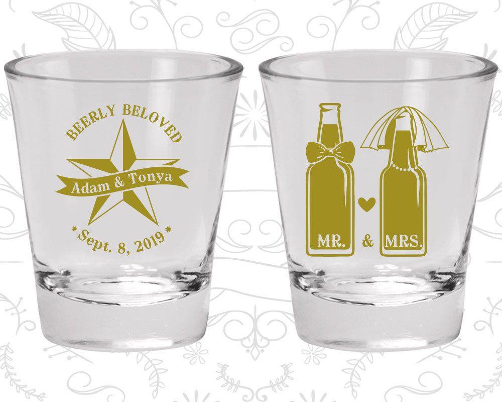 Wedding Favor Shot Glasses, Personalized Shot Glass, Shot Glasses ...