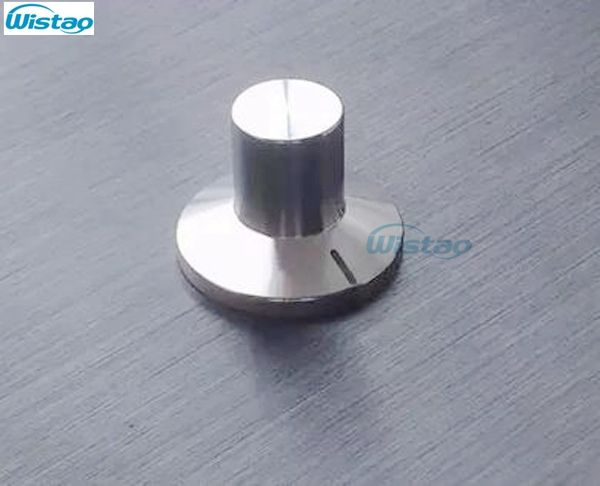 outer od 31 5mm h23 mm solid potentiometer knob hat stainless