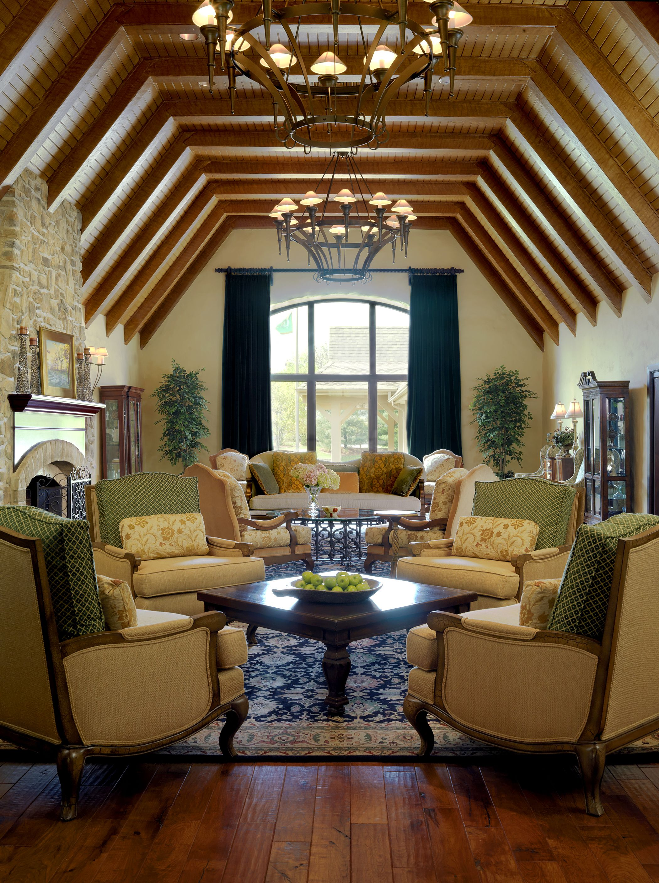 Greenbriar Country Club St Louis Mo Lawrence Group Architecture Interiordesign Plan Design