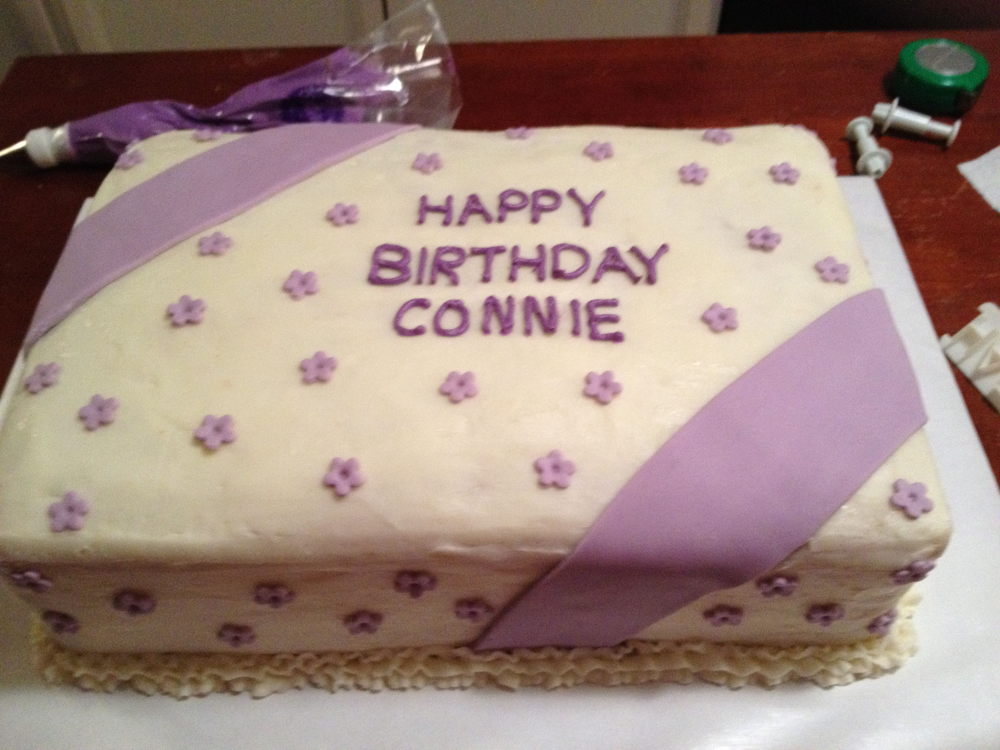 Connie S Birthday Cake Cookies Cakes I Ve Made