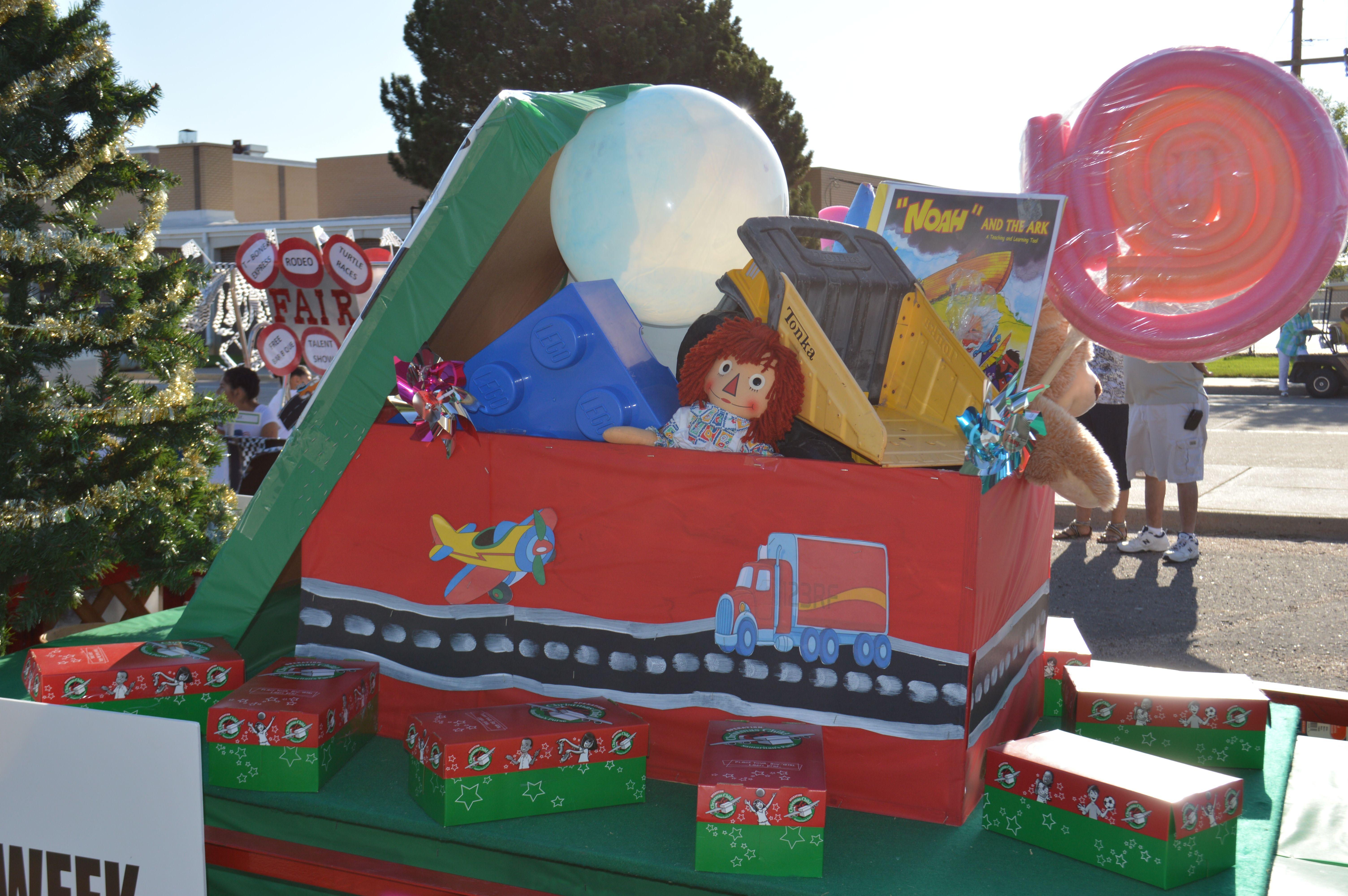 Operation Christmas Child Parade Float OCC Pinterest