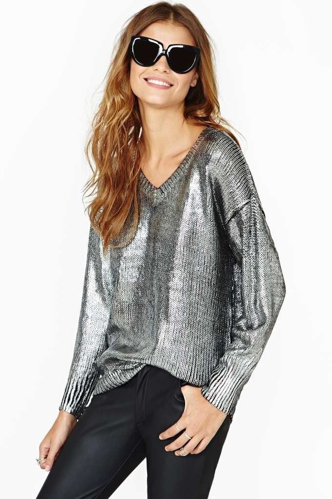 PeP LM.CF (Elan Metal Coated Sweater) | Fashion outfits ...