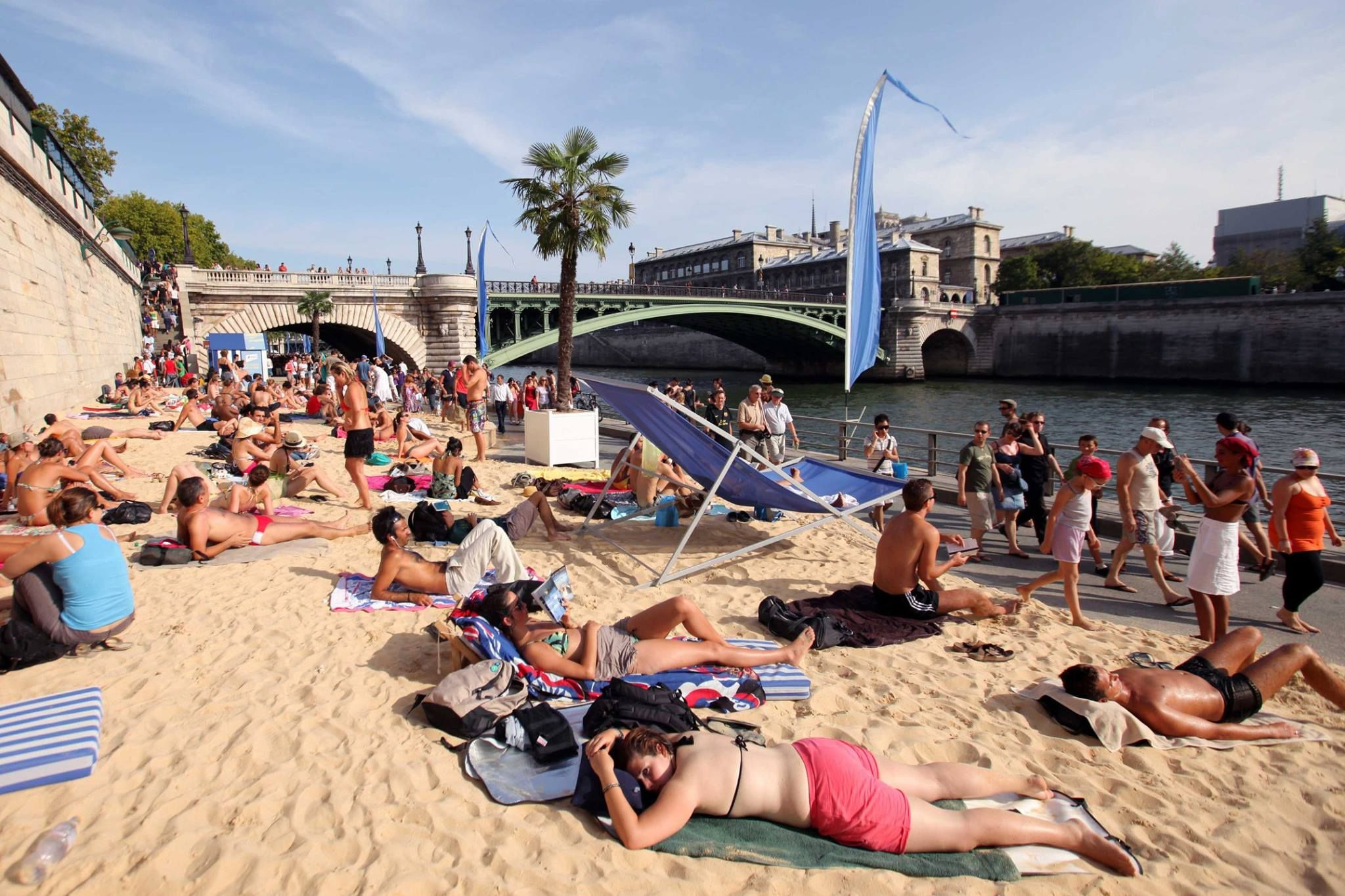 Rendez-vous in Paris this summer to celebrate the 15th edition of Paris Plages!