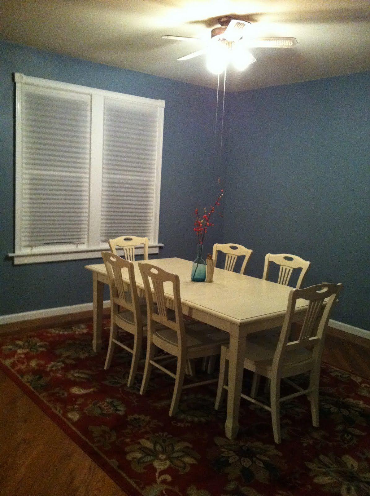 Benjamin Moore S Van Courtland Blue Dining Room Blue