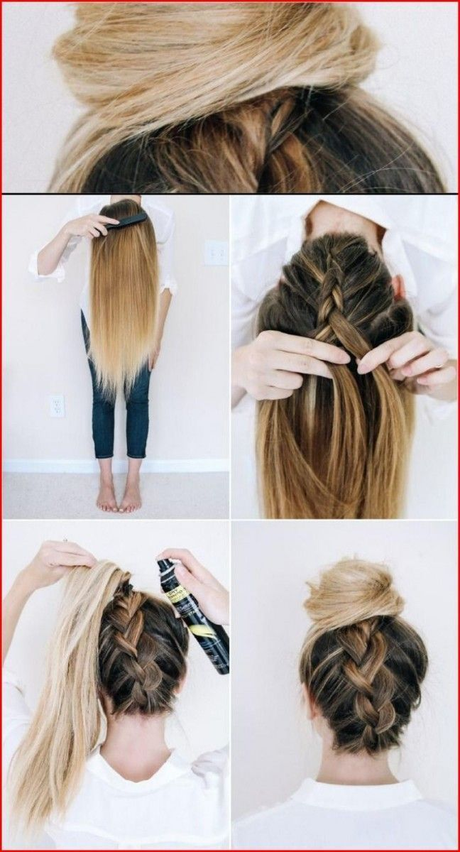 Braiding Braiding Instructions Hairstyles Braided Hair Braiding Wedding Ideas Braiding Braidi En 2020 Peinados Frescos Peinado Y Maquillaje Cabello Largo