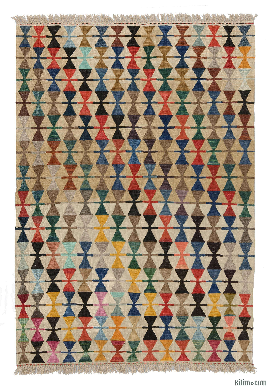 K0007978 New Turkish Kilim Rug | Kilim Rugs, Overdyed Vintage Rugs,  Hand-made