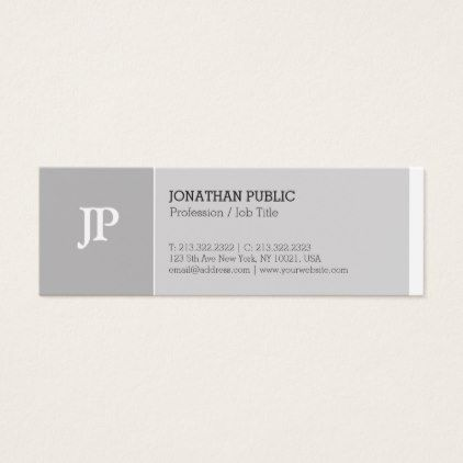 Trending elegant monogram creative plain luxury mini business card trending elegant monogram creative plain luxury mini business card lawyer business diy personalize custom lawyers pinterest reheart Choice Image