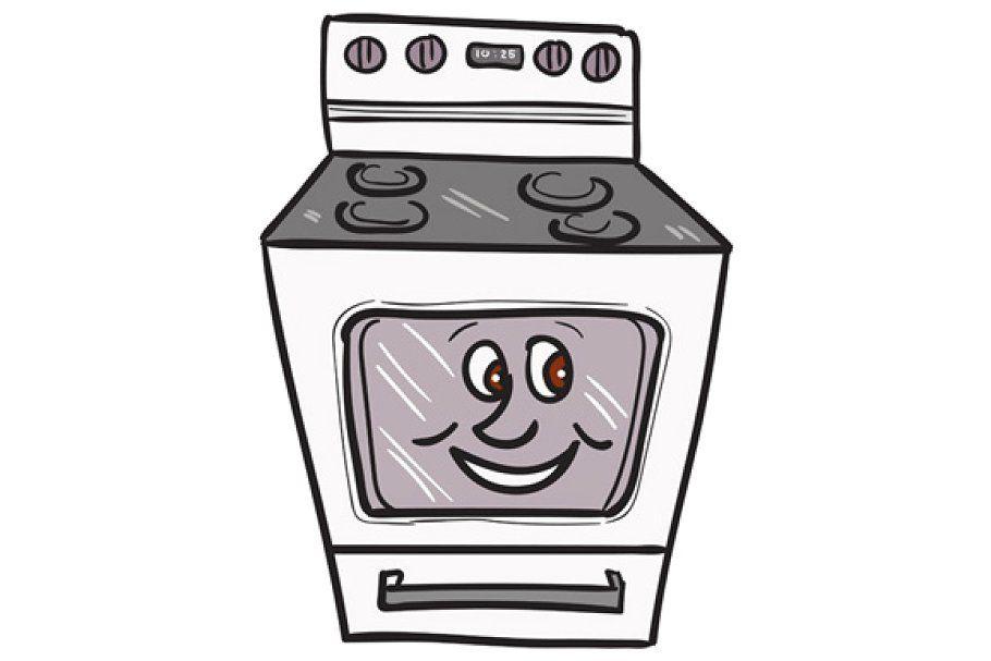 Oven Smiley Face Cartoon Funny Cartoon Faces Cute Cartoon Faces Cartoon Faces