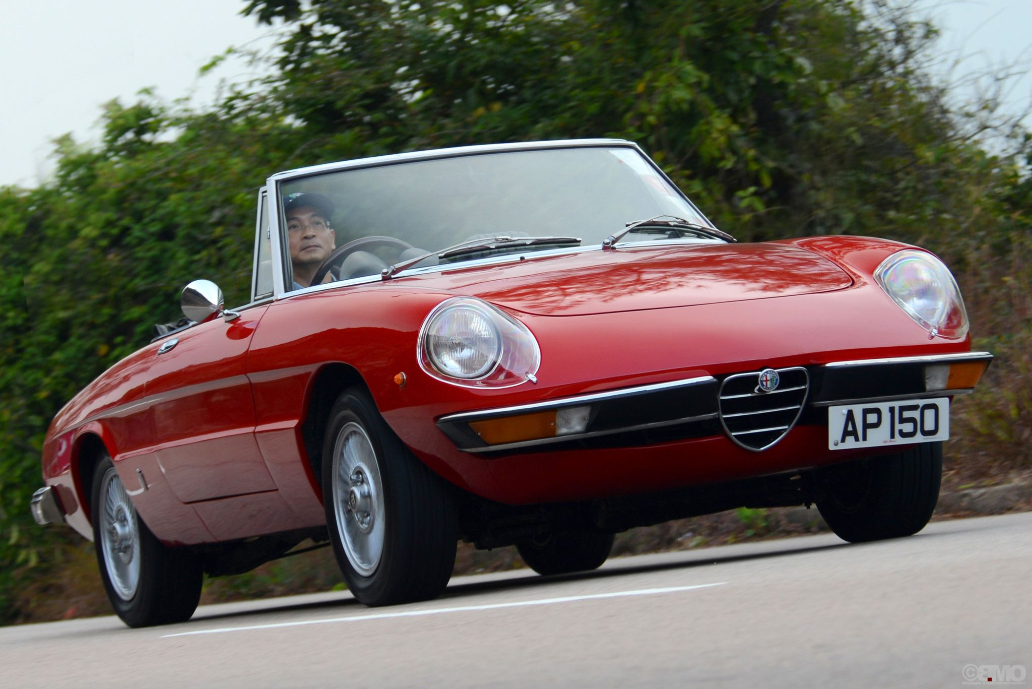 Alfa Romeo Spider 105 115 series in Hong Kong