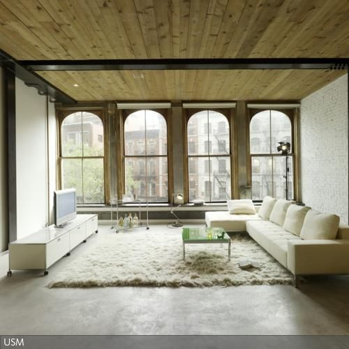 Holzdecke als Stilelement Holzdecke, Kühler und Prägen - wohnideen wohnzimmer rustikal