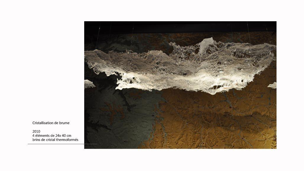 Cristallisation de brume : Mathilde Caylou