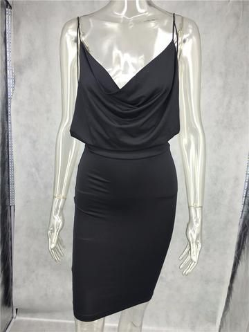 53284f20e9d Loose   Fitted Silhouette Cocktail Dress